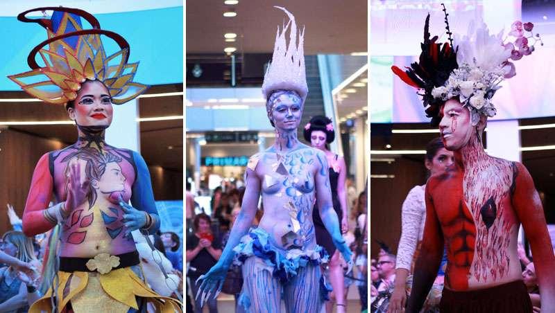 Arte reivindicativo y social en el beauty art show de Cazcarra