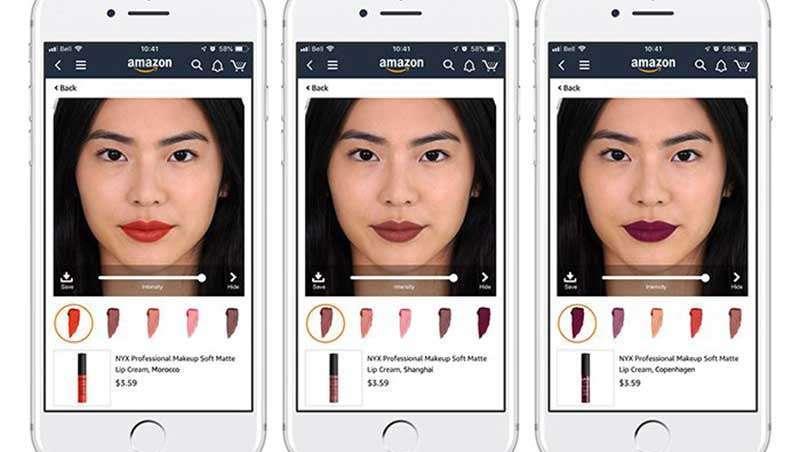 L?Oréal e Amazon aliam-se para experimentar a realidade aumentada