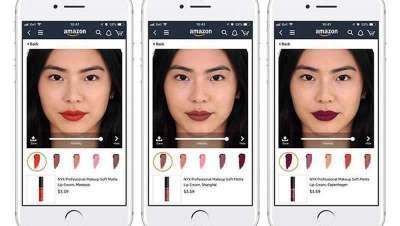 L'Oréal e Amazon aliam-se para experimentar a realidade aumentada