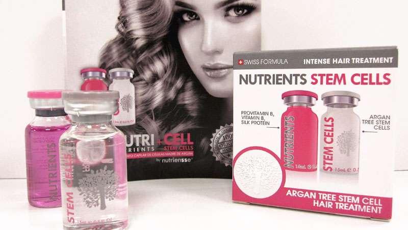 Nutricell, células madre de Argán, compatibles con la dermis, lo último en salud para el cabello