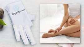 Para depilaciones con azúcar, nace Ergowave®, el guante que optimiza y facilita el movimiento, previniendo las lesiones en el profesional