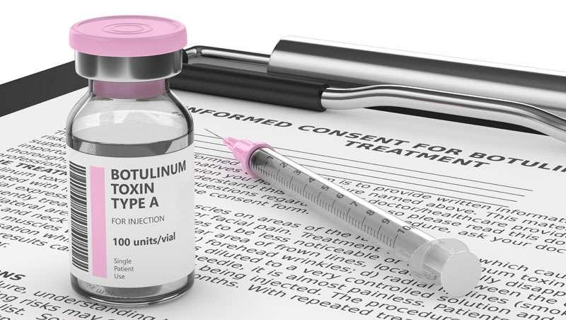 La toxina botulínica solo se puede administrar por médicos