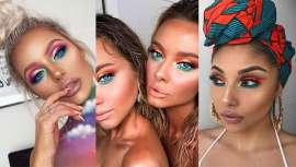 Entre nude y neón, el makeup de tus ojos