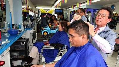 Las peluquerías y barberías, los negocios con mayor número de aperturas en Colombia