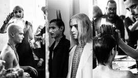 El silencio es el hilo conductor de la nueva colección de Salon44, que curiosamente, hizo y está haciendo mucho ruido, en su presentación en Espacio Harley Madrid, con el aplauso