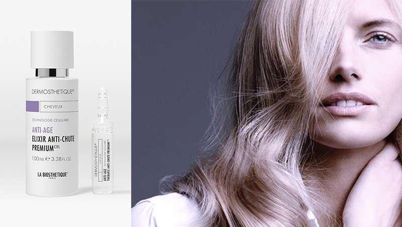 Cabello rejuvenecido con los nuevos productos antiedad de 'Dermosthétique'
