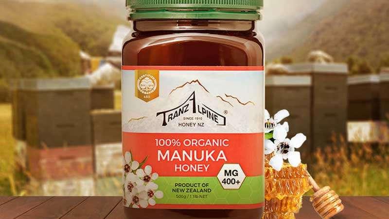 Bote de miel de manuka ecologica