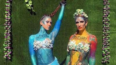 Cazcarra y Ten Image, maquilladores oficiales del Reggaeton Beach Festival Barcelona