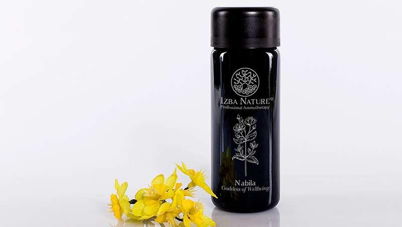 Nabila el aceite completo de Izba Nature