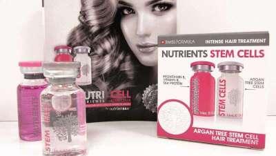 Nutricell, células-mãe de Argan, compatíveis com a derme, o último em saúde para o cabelo