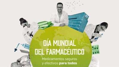 Los farmacéuticos celebrarán próximamente su Día Mundial