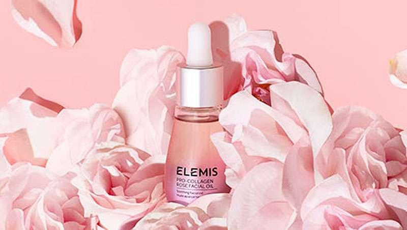 Todo el poder de la rosa en el nuevo aceite facial Elemis