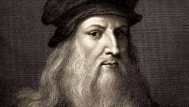 Os cientistas localizaram cabelo de Da Vinci, coincidindo com o 500 aniversário da sua morte