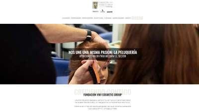 La Fundación VMV Cosmetic Group mejora su web con el inicio del curso escolar