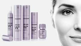 Ultimate W+, linha branqueadora, iluminadora, antienvelhecimento e hidratante de mesoestetic