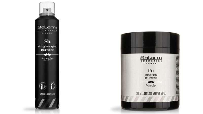 Nuevos productos de styling para hombre, de Salerm Cosmetics