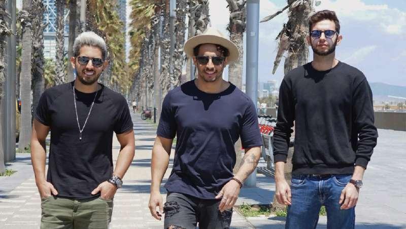 Tres chicos