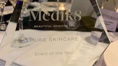 Mejor evento del año y Mayor crecimiento, dos premios para Pure Skincare de la mano de Medik8