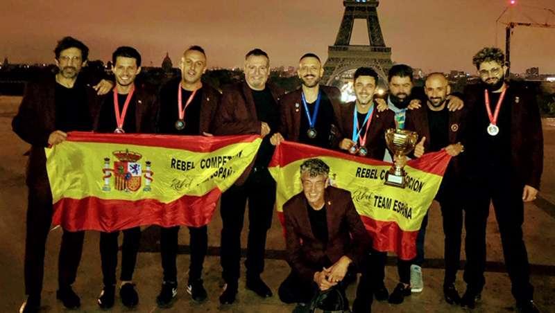 España, subcampeona mundial de barbería en la OMC Hairworld Cup