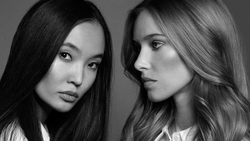 dos chicas modelos