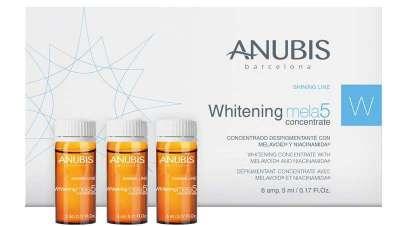 Anubis apresenta o seu novo concentrado profissional despigmentante Whitening mela5 concentrate