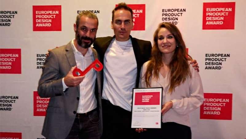 Indiba, medalla de oro en los Premios Europeos de Diseño de Producto 2019