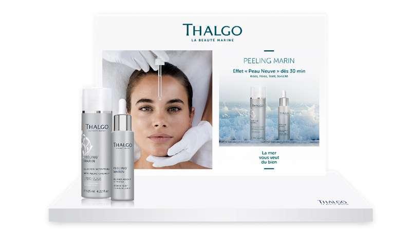 Peeling Marin Thalgo, 1ª linha marinha cosmética efeito New Skin