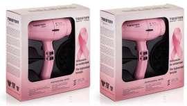 La detección precoz en el cáncer de mama salva muchas vidas. #Súmatealrosa con Salerm Cosmetics y su edición del secador Twister, en rosa