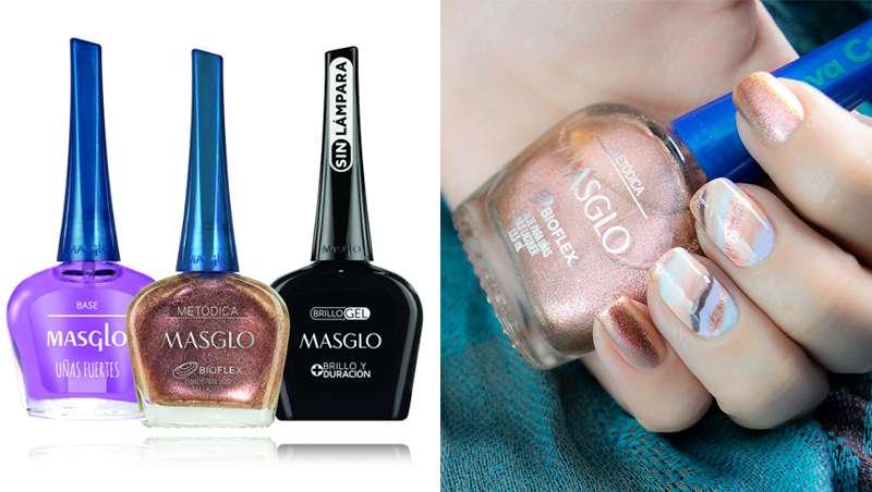 Masglo invita a crear diseños de nail art con su colección navideña