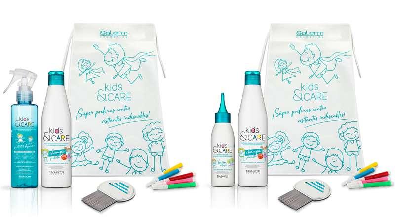 Kids & Care, la primera cosmética capilar infantil llega al salón