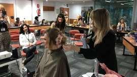 La peluquera rusa ha impartido una formación donde se han aprendido técnicas muy novedosas y poco vistas en nuestro país