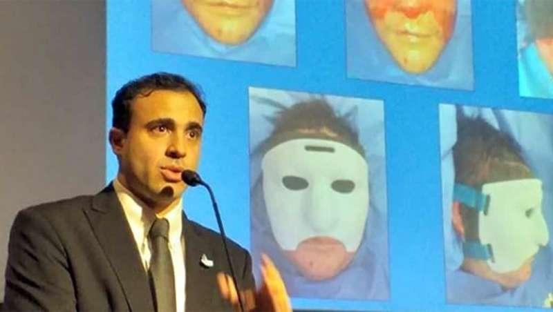 Cirujanos crean la primera máscara 3D para reconstrucción facial