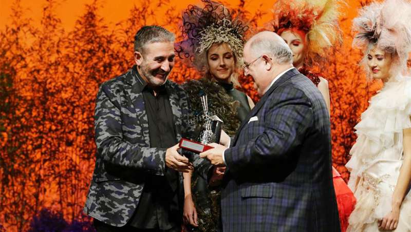 Gonzalo Zarauza, premio a la Mejor Trayectoria en Getxo Moda