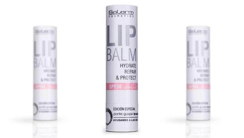 Ponte guapa, te sentirás mejor con el bálsamo labial Salerm Cosmetics dedicado a la Fundación Stanpa