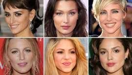 Famosas que han recurrido a la cirugía estética para mejorar la armonía y proporcionalidad del rostro con resultados indiscutidos