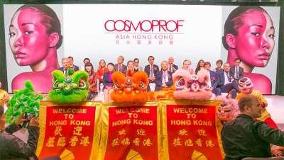 El mundo se ha dado cita en Cosmoprof Asia