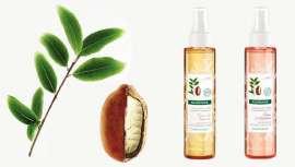 Os novos óleos secos de Klorane incorporam este benéfico ingrediente orgânico que hidrata em profundidade as peles mais secas
