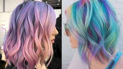 Cabelo arco-íris, muito mais do que imaginas
