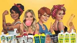 Pode pedir-se mais? Assim é a aposta de Lola Cosmetics, uma visão real e divertida da beleza e saúde do cabelo para todas as mulheres