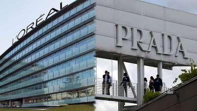 Prada y L'Oréal se alían para desarrollar productos de belleza de lujo en Argentina