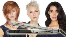De uma só passagem e com apenas uma mão, a prancha Technology EP 5.0 de Babyliss PRO não só alisa como também cria caracóis perfeitos, bonitos e duradouros da forma mais simples e rápida em todo o tipo de cabelos. Um básico no salão de cabeleireiro