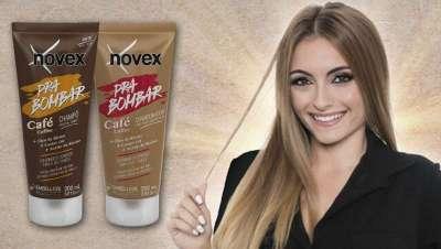 A energia do café na nova linha de penteados Novex Hair Boost Coffee