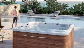 Aquavia Spa, especializado en bañeras de hidromasaje y swimspas, presenta este spa con altas prestaciones y capacidad para cinco personas