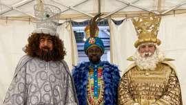 Melchor, Gaspar y Baltasar lucen su imagen más mágica gracias a Cazcarra en la Cabalgata de Reyes 2020 de Barcelona