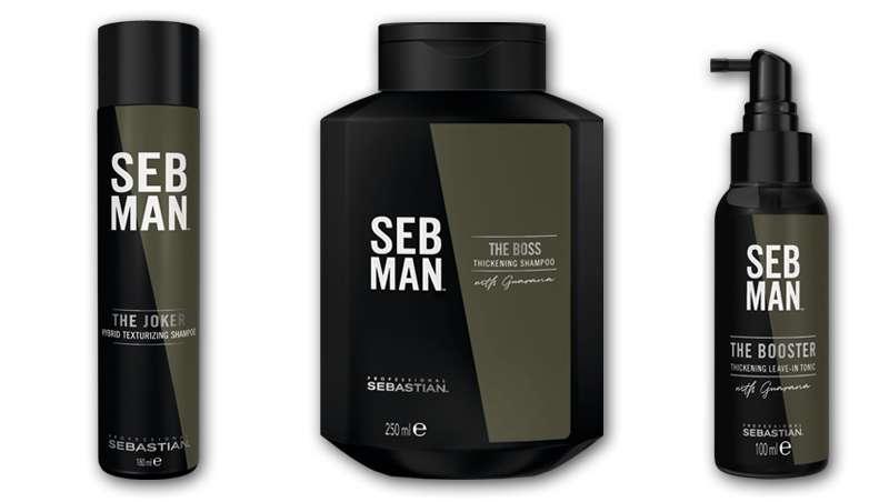 Lo nuevo de SebMan para el hombre se llama The Un/Definable, efecto más cabello