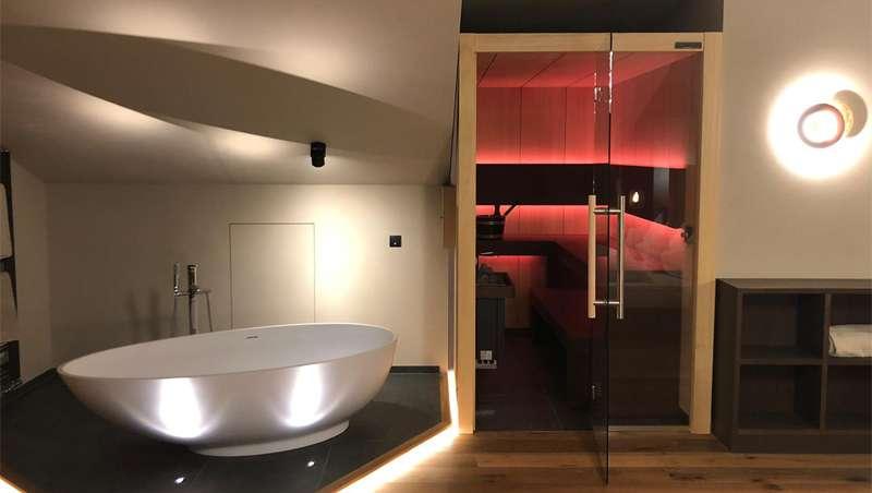 Carmenta, una sauna de ensueño en los Alpes italianos, de su colección Dream