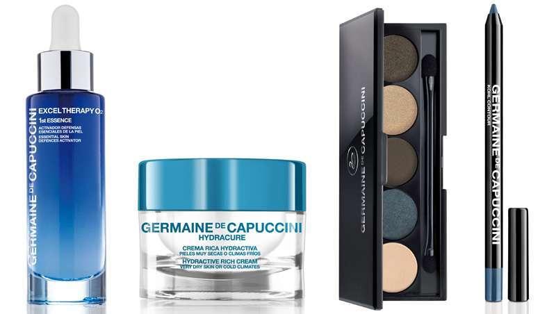 Os cosméticos 'Classic Blue' Germaine de Capuccini, a cor do Ano Pantone