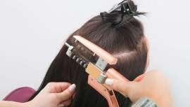 Livre de processos pesados que precisam de tempo e esforço do profissional e danificam o cabelo, as extensões Hair Cold Clip colocam-se simples e rapidamente. Cabelo Remy certificado