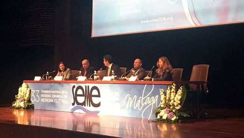 Carmen Posadas inaugura el 35º Congreso Internacional de la Sociedad Española de Medicina Estética
