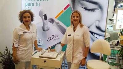 Wishpro acude y concentra la atención en la Exposición Internacional de Aparatología y Cosmética de Badajoz y Expobelleza Andalucía